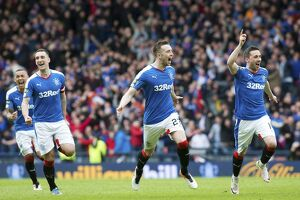 Soccer - The William Hill Scottish Cup Semi Final - Rangers v Celtic - Hampden Park