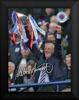 Walter Smith Co-Operative Cup Final 2010 Framed Print
