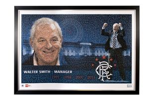 Walter Smith framed mosaic