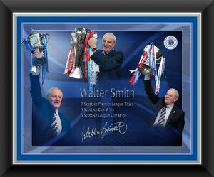 Walter Smith Paint Effect Print