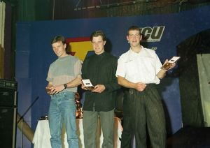 1996 TT Newcomers trophy winners