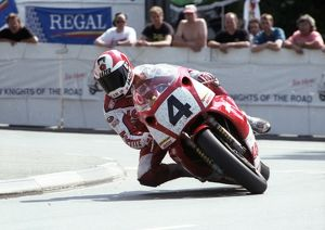 Carl Fogarty at Quarter Bridge: 1992 Senior TT