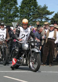 Where did you get that hat! Guy Martin: 2007 TT Re-enactment
