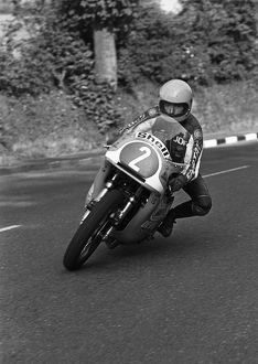 The eyes have it: Joey Dunlop (Honda) 1978 Formula One TT