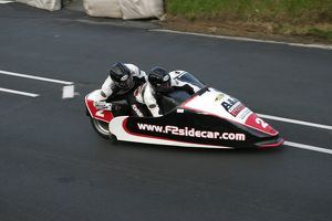 The first TT win for Nick Crowe; 2005 Sidecar A TT