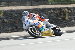 John McGuinness (Padgett Honda) at Kirk Michael: 2008 Senior TT