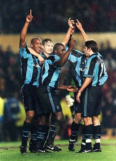 FA Carling Premiership - Coventry City v Manchester United