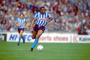 Cyrille Regis, Coventry City, in action