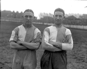 Leslie Jones (l) and William 'Billy' Lake (r), Coventry City