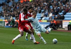 npower Football League Championship - Coventry City v Middlesbrough - Ricoh Arena