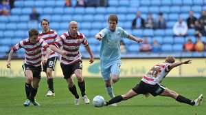 <b>21-04-2012 v Doncaster Rovers, Ricoh Arena</b><br>Selection of 22 items