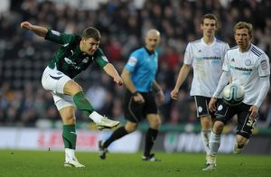 <b>14-01-2012 v Derby County, Pride Park</b><br>Selection of 10 items