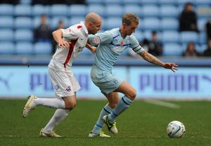 npower Football League One - Coventry City v Scunthorpe United - Ricoh Arena