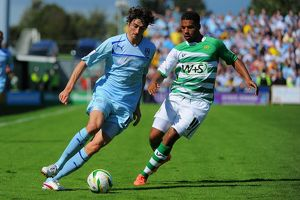 npower Football League One - Yeovil Town v Coventry City - Huish Park