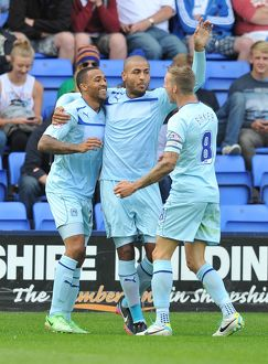 <b>Sky Bet Football League One : Shrewsbury Town v Coventry : Greenhous Meadow : 31-08-2013</b><br>Selection of 3 items