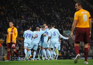 <b>Sky Bet League One : Bradford City v Coventry City : Coral Windows Stadium : 17-11-2013</b><br>Selection of 6 items