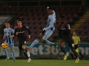 <b>Sky Bet League One : Coventry City v Carlisle United : Sixfields Stadium : 18-02-2014</b><br>Selection of 7 items