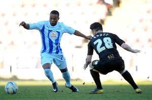 <b>Sky Bet League One : Coventry City v Port Vale : Sixfields Stadium : 16-03-2014</b><br>Selection of 7 items