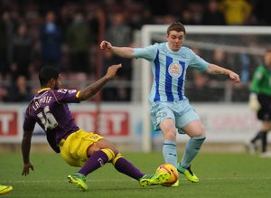 <b>Sky Bet League One : Coventry v Notts County : Sixfields : 02-11-2013</b><br>Selection of 12 items