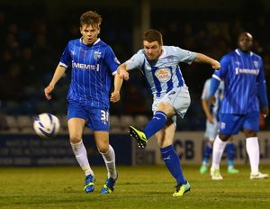 <b>Sky Bet League One : Gillingham v Coventry City : Priestfield Stadium : 11-03-2014</b><br>Selection of 4 items