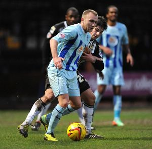 Sky Bet League One - Notts County v Coventry City - The Valley