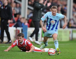 <b>Sky Bet League One : Walsall v Coventry City : Banks Stadium : 26-10-2013</b><br>Selection of 3 items