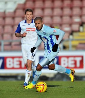 <b>Sky Bet League One : Coventry City v Tranmere Rovers : Sixfields Stadium : 23-11-2013</b><br>Selection of 7 items