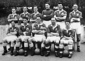 Birmingham City F.C. Second Division Winning Team group - 1954â?