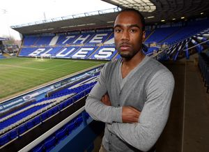 Birmingham City's Cameron Jerome during the media day at St. Andrew's, Birmingham