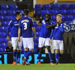 Capital One Cup Round One - Birmingham City v Cambridge United - St. Andrew's