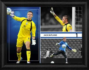 Jack Butland Framed Player Profile Print