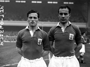 (L-R) Don Dorman and Cyril Trigg, Birmingham City