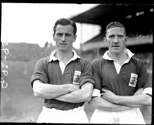 (L-R) Don Dorman and Ray Ferris, Birmingham City