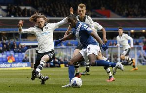 <b>Sky Bet Championship - Birmingham City v Fulham - St.Andrews</b><br>Selection of 18 items