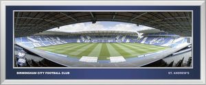 St Andrews Framed Panoramic Halfway Empty Dugout