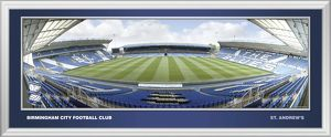 St Andrews Framed Panoramic Empty Halfway Opposite Dugout