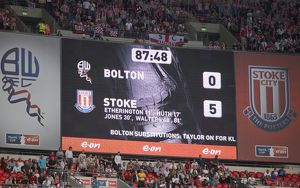 Bolton Wanderers v Stoke City FA Cup semi final