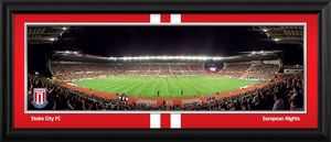 Europa League Framed Match Panoramic
