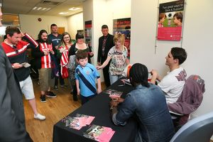 Leek United 'Meet the players' event