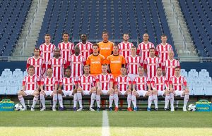stoke city football club - 1st team photo 2012-13 -