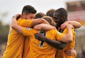 Boston United 2-1 Alfreton Town 17/10/2015 (Selection of 56 Items)