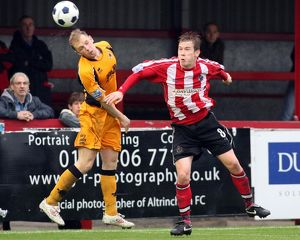 Altrincham 6-1 Boston United 08-10-2011 (Selection of 16 Items)