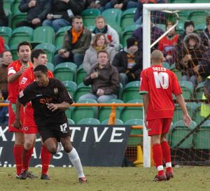 Barnet 1-0 Boston United 31-12-2005