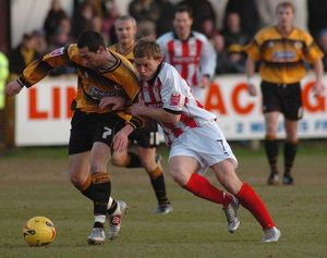 Boston United 0-0 Cheltenham Town 17-12-2005
