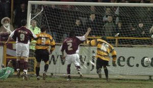Boston United 0-1 Northampton Town 22-03-2006