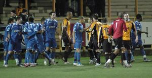 Boston United 0-2 Bishops Stortford 10-01-2012 (Selection of 15 Items)