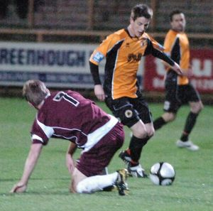 Boston United 1-0 Corby Town 09-11-2010