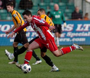 Boston United 1-1 Altrincham 17-03-2012