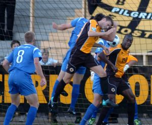 Boston United 1-1 Histon 16-08-2011 (Selection of 8 Items)