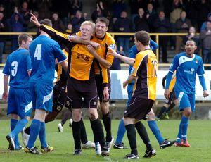 Boston United 1-2 Gainsborough Trinity 14-04-2012
